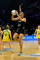 Silver Ferns&rsquo; Te Paea Selby-Rickit in action during the International Netball Constellation Cup - NZ Silver Fans v Australia Diamonds at TSB Bank Arena, Wellington, New Zealand on Thursday 18 October  2018. <br /> Photo by Masanori Udagawa. <br /> www.photowellington.photoshelter.com