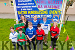 Scoil Realta Na Maidine Fund Raiser:Pictured to announce the upcoming fund raiser events in aid of Scoil Realta naMaidine over the Easter weekend were in front Ben Corridan, Patrick Walsh, Jack Enright & Patrick Murphy. Back : Linda Prendiville, AIB, Lisatowel. Brian Scanlan, Tom Daltom & Deirdre OConnor.