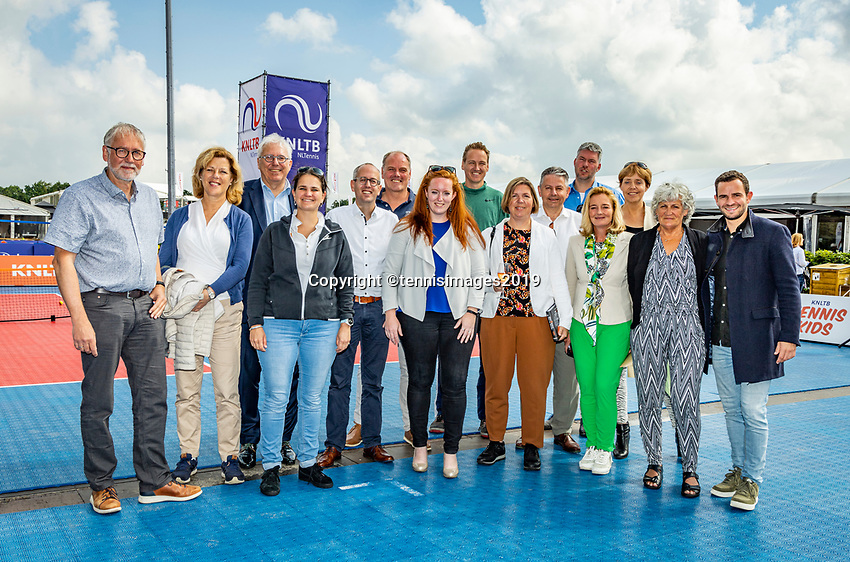 Rosmalen, Netherlands, 15 June, 2019, Tennis, Libema Open, Ledenraad<br /> Photo: Henk Koster/tennisimages.com