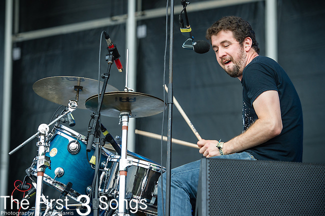 David Prowse of Japandroids performs during Day 2 of the 2013 Firefly Music Festival in Dover, Delaware.