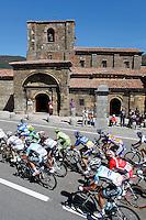 The peloton during the stage of La Vuelta 2012 between La Robla and Lagos de Covadonga.September 2,2012. (ALTERPHOTOS/Paola Otero) /NortePhoto.com<br /> <br /> **CREDITO*OBLIGATORIO** <br /> *No*Venta*A*Terceros*<br /> *No*Sale*So*third*<br /> *** No*Se*Permite*Hacer*Archivo**<br /> *No*Sale*So*third*