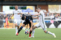 San Jose, CA - Saturday April 06, 2019: Major League Soccer (MLS) match between the San Jose Earthquakes and the Portland Timbers  at Avaya Stadium.