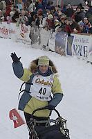 Silvia Willis Willow restart Iditarod 2008.