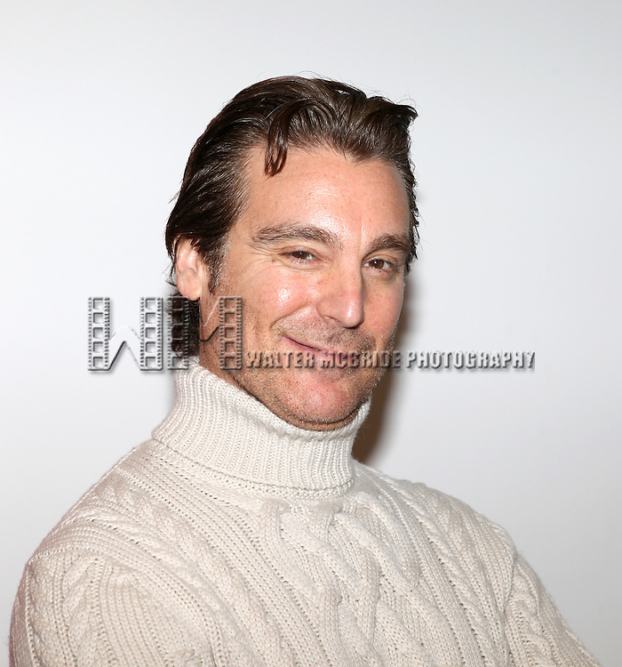 """Michael T. Weiss.attends the Off-Broadway Cast Meet & Greet for """"A Perfect Future"""" at the Primary Stages Rehearsal Studios  in New York City."""