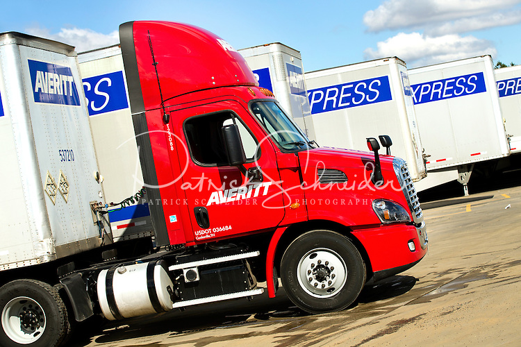 On-location photography of Averitt Express Transportation Services at their Charlotte, NC location on Westinghouse Boulevard.<br /> <br /> Charlotte Photographer - PatrickSchneiderPhoto.com