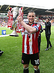 Billy Sharp of Sheffield Utd during the League One match at Bramall Lane, Sheffield. Picture date: April 30th, 2017. Pic David Klein/Sportimage