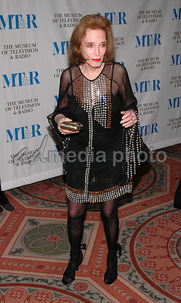 26 May 2005 - New York, New York - Helen Gurley Brown arrives at The Museum of Television and Radio's Annual Gala where Merv Griffin is being honored for his award winning career in radio and television.<br />Photo Credit: Patti Ouderkirk