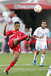 11 March 2008: Cristian Vega (PAN) (8). The Honduras U-23 Men's National Team defeated the Panama U-23 Men's National Team 1-0 at Raymond James Stadium in Tampa, FL in a Group A game during the 2008 CONCACAF's Men's Olympic Qualifying Tournament.