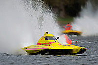 "Jesse Robertson, S-12 ""Liquid Lizard"" and J. P. Squires, S-83 ""Mega Bucks"" (2.5 Litre Stock hydroplane(s)"