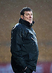 St Johnstone v Hamilton Accies…28.01.17     SPFL    McDiarmid Park<br />Tommy Wright<br />Picture by Graeme Hart.<br />Copyright Perthshire Picture Agency<br />Tel: 01738 623350  Mobile: 07990 594431