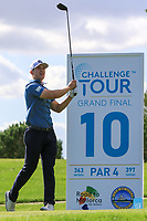 Callum Hill (SCO) on the 10th tee during the Pro-Am of the Challenge Tour Grand Final 2019 at Club de Golf Alcanada, Port d'Alcúdia, Mallorca, Spain on Wednesday 6th November 2019.<br /> Picture:  Thos Caffrey / Golffile<br /> <br /> All photo usage must carry mandatory copyright credit (© Golffile | Thos Caffrey)
