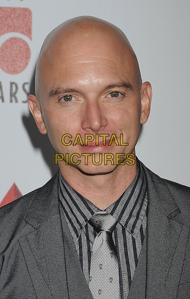 "Michael Cerveris.The 6th Annual ""A Fine Romance"" Event Held At Sony Pictures Studios, Culver City, California, USA, 15th October 2011..headshot portrait stripe grey gray suit shirt.CAP/ROT/TM.©Tony Michaels/Roth Stock/Capital Pictures"