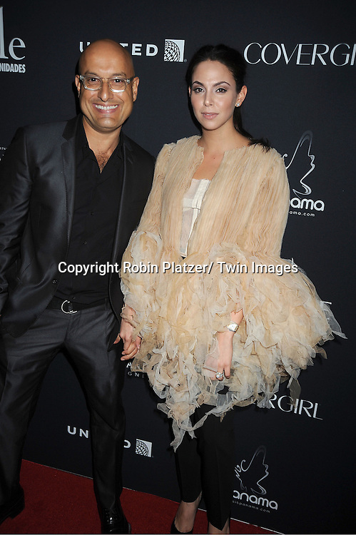 Angel Sanchez and Carolina Alvarez attends the Vanidades Magazine  Icons of Style Gala on September 27, 2012 at the Mandarin Oriental Hotel in New York City.