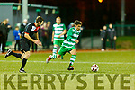 Names to follow  Killarney Celtic wall jumps against Janesboro during their Munster Champions Cup tie in Celtic Park on Saturday night