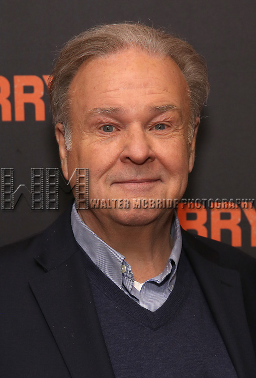 "Fred Applegate attends the ""The Ferryman"" cast change photo call on January 17, 2019 at the Sardi's in New York City."
