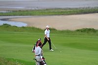 Colin Fairweather (Knock) on the 12th during Round 3 of The South of Ireland in Lahinch Golf Club on Monday 28th July 2014.<br /> Picture:  Thos Caffrey / www.golffile.ie