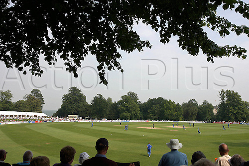 10 June 2007. General view of Arundel cricket ground during Friends Provident South trophy one day match between Sussex and Essex. Photo: Steve Bardens/actionplus..gv venue 070610 crowd spectator