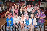 21 WISHES: Sian Callaghan, Ballymac (seated centre) celebrated her 21st birthday, with family and friends, in Turners Bar, Tralee on Saturday night last.