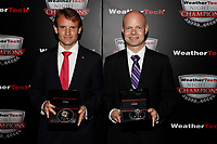 IMSA WeatherTech SportsCar Championship<br /> Night of Champions<br /> Road Atlanta, Braselton GA<br /> Monday 9 October 2017<br /> Antonio Garcia and Jan Magnussen with Tudor Watches<br /> World Copyright: Michael L. Levitt<br /> LAT Images