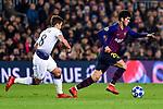 UEFA Champions League 2018/2019 - Matchday 6.<br /> FC Barcelona vs Tottenham Hotspur FC: 1-1.<br /> Winks vs Carles Aleña.
