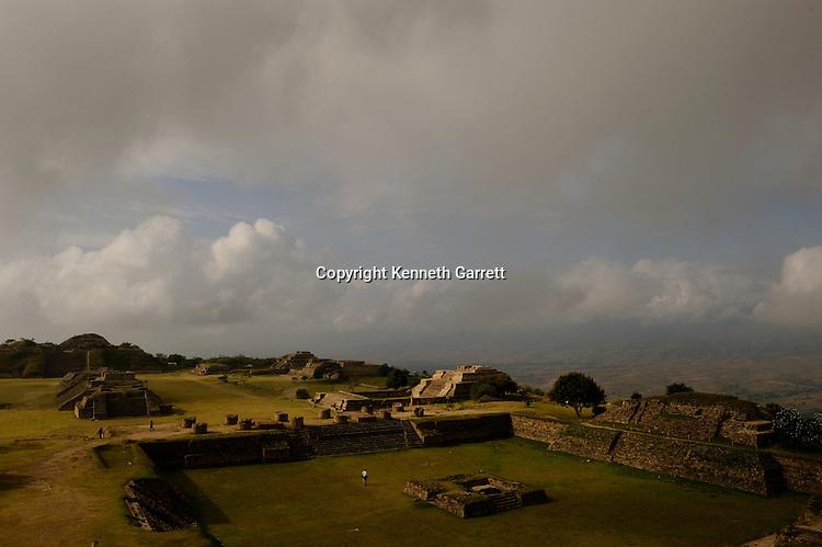 Mexico; Oaxaca; Monte Alban, Pre-colonial, Zapotec