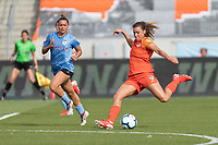 Houston, TX - Sunday May 19, 2019: NWSL regular season match between the Houston Dash and the the Chicago Red Stars at BBVA Compass Stadium.