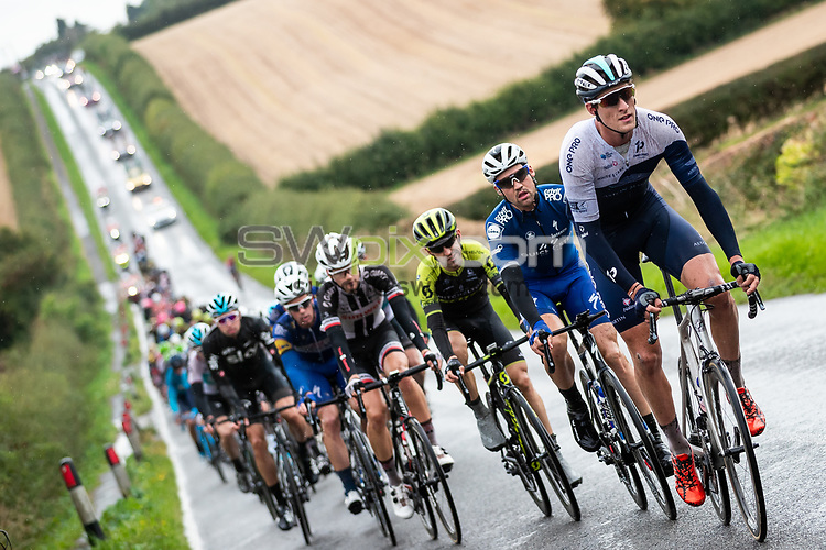 Picture by Alex Whitehead/SWpix.com - 08/09/2018 - Cycling - OVO Energy Tour of Britain - Stage 7: West Bridgford to Mansfield - Chris Latham of One Pro Cycling in action.
