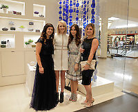 Heather Frey, Mara Ferreira and Tina Mossey attend the Tadashi Shoji South Coast Plaza Re-Opening Celebration on July 11, 2013 (Photo by Inae Bloom/Guest of a Guest)