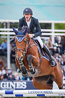 BEL-Pieter Devos rides Claire Z during the Longines Cup of the City of Barcelona. Final-1st. 2017 ESP-Longines FEI Nations Cup Jumping Final - CSIO Barcelona. Real Club de Polo de Barcelona. Sunday 1 October. Copyright Photo: Libby Law Photography