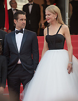 Nicole Kidman &amp; Colin Farrell at the premiere for &quot;The Killing of a Sacred Deer&quot; at the 70th Festival de Cannes, Cannes, France. 22 May 2017<br /> Picture: Paul Smith/Featureflash/SilverHub 0208 004 5359 sales@silverhubmedia.com