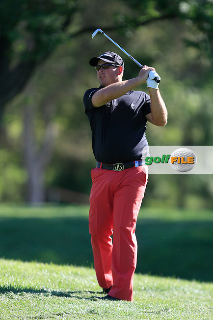 Justin Walters (RSA) on the 13th during Thursday's Round 1 of The Open De Espana at The PGA Catalunya Resort. 15th May 2014.<br /> Picture:  Thos Caffrey / www.golffile.ie