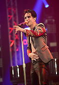 PANIC! AT THE DISCO - Brendon Urie - performing livel at the Radio One Big Weekend at Powderham Castle Exeter UK - 29 May 2016.  Photo credit: George Chin/IconicPIx