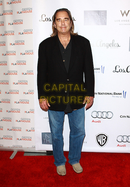 BEAU BRIDGES .Annual Backstage At The Geffen Gala -Arrivals held at The Geffen Playhouse, Westwood, California, USA, .22nd March 2010..full length black jacket jeans blazer .CAP/ADM/TC.©T. Conrad/AdMedia/Capital Pictures.