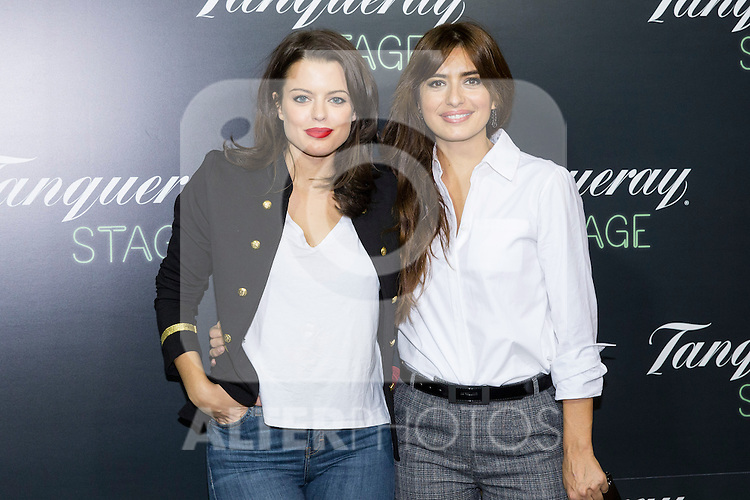 "Adriana Torrevejerano  and Aurora Carbonell during the premiere of ""Los tragos de la vida"" directed by Daniel Guzman at Infanta Isable theatre in Madrid. October 05, 2016. (ALTERPHOTOS/Rodrigo Jimenez)"