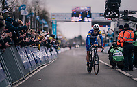 solo win for Niki Terpstra (NED/Quick-Step Floors)<br /> <br /> 61th E3 Harelbeke (1.UWT)<br /> Harelbeke - Harelbeke (206km)