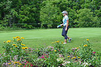 Brooke M. Henderson (CAN) makes her way to the tee on 11 during round 3 of the 2018 KPMG Women's PGA Championship, Kemper Lakes Golf Club, at Kildeer, Illinois, USA. 6/30/2018.<br /> Picture: Golffile | Ken Murray<br /> <br /> All photo usage must carry mandatory copyright credit (&copy; Golffile | Ken Murray)