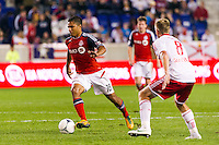 Quincy Amarikwa (18) of Toronto FC. The New York Red Bulls defeated Toronto FC 4-1 during a Major League Soccer (MLS) match at Red Bull Arena in Harrison, NJ, on September 29, 2012.
