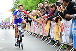 arnaud Demare (FRA) Groupama-FDJ at the Team Presentations for the 105th Tour de France 2018 held on Napoleon Square in La Roche-sur-Yon, France. 5th July 2018. <br /> Picture: ASO/Alex Broadway | Cyclefile<br /> All photos usage must carry mandatory copyright credit (&copy; Cyclefile | ASO/Alex Broadway)