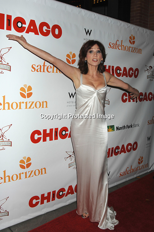 """Marilu Henner..arriving at The Party for """"Chicago"""" The Musical's 10 year Anniversary on November 14, 2006 at New World Stages. ..It was a benefit for Safe Horizon. ..Robin Platzer, Twin Images"""