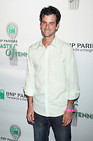 Tennis player Brian Baker attends the 13th Annual 'BNP Paribas Taste of Tennis' at the W New York.  New York City, August 23, 2012. &copy;&nbsp;Diego Corredor/MediaPunch Inc. /NortePhoto.com<br />