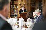 Germany, Berlin, 2018/05/28<br /> <br /> Verleihung des Scopus Award an Henryk M. Broder am 28/5/2018. Leon de Winter. (Photo by Gregor Zielke)