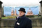 Tony Fox, Head Custodian of Christ Church on St Aldates during the Sunday Times Oxford Literary Festival, UK, 16 - 24 March 2013.