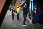 Hibernian fans queueing at the turnstiles outside Meadowbank Stadium before the Scottish Cup winners took on hosts Edinburgh City in a pre-season friendly. The match was City's first at the Commonwealth Stadium since they gained promotion from the Lowland League to the Scottish League in May 2016. A record crowd for a City match of 2500 spectators saw the visitors run out 6-1 winners.