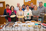 The parents who made and presented food from their home countries for the Kilcummin National School Food Fair. .Front L-R Mary Cronin, Ewa Pogorzelska, Margaret Sznerys and Irma Ronkaitiene. .Back L-R Margaret Healy, Michael Pogorzelska, Phil Breen, Tomas Joksas and John McClain.