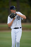Detroit Tigers Parker Meadows (17) during warmups before an Instructional League instrasquad game on September 20, 2019 at Tigertown in Lakeland, Florida.  (Mike Janes/Four Seam Images)