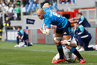 Rugby, Torneo delle Sei Nazioni: Italia vs Inghilterra. Roma, 14 febbraio 2016.<br />