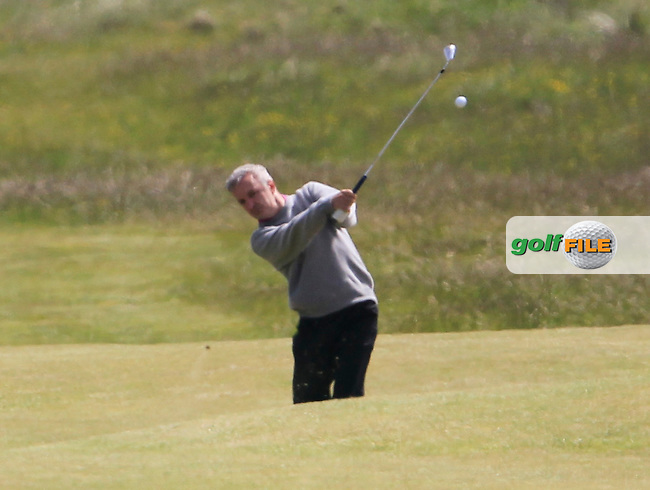 Michael Sinclair (Knock) on the 9th during the 2nd round of the East of Ireland Amateur Open Championship 2013 Co Louth Golf club 2/6/13<br /> Picture:  Thos Caffrey / www.golffile.ie