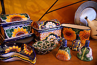 Talavera pottery from the state of Guanajuato, Mexico