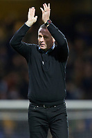 Paul Lambert, Manager of Ipswich Town applauds the home support during Ipswich Town vs Rotherham United, Sky Bet EFL Championship Football at Portman Road on 12th January 2019