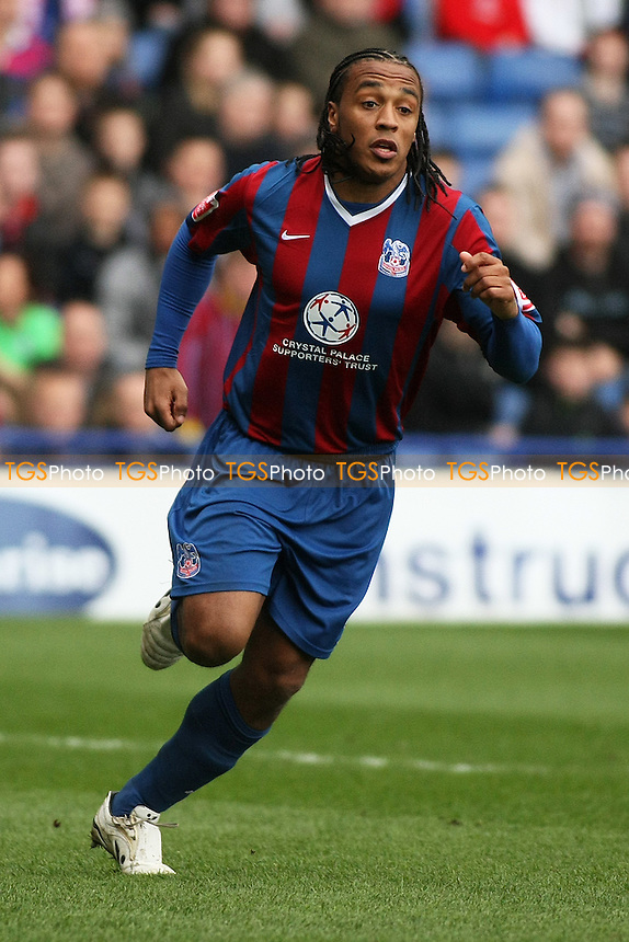 Neil Danns of Crystal Palace- Crystal  Palace vs Preston North End- Coca Cola Championship at Selhurst Park, South Norwood, London - 05/04/10 - MANDATORY CREDIT: George Phillipou/TGSPHOTO - Self billing applies where appropriate - 0845 094 6026 - contact@tgsphoto.co.uk - NO UNPAID USE..